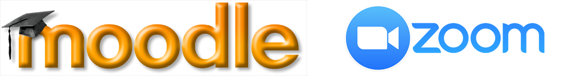 moodle zoom logo